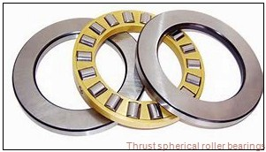 29424EJ THRUST SPHERICAL ROLLER BEARINGS TYPES TSR-EJ AND TSR-EM