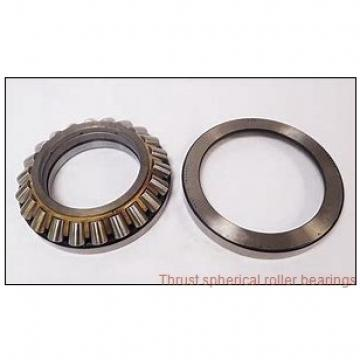 29344EJ THRUST SPHERICAL ROLLER BEARINGS TYPES TSR-EJ AND TSR-EM