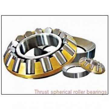294/710EM THRUST SPHERICAL ROLLER BEARINGS TYPES TSR-EJ AND TSR-EM